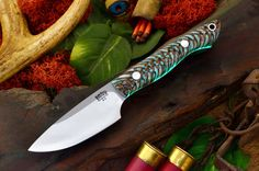 "The Bark River Kalahari Bushman has arrived. This knife is well suited for small game, caping, light camp chores, or EDC. It measures 7.25"" overall with a 3.25"" blade. For the size of the knife, it's lightweight; weighing just 3.7 ounces. We have a full assortment of handles to choose from.http://dlt.link/1F46qR9"