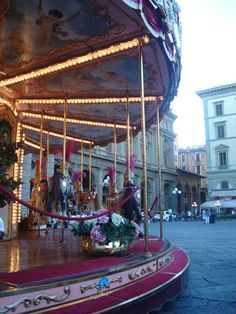 Carrousell in Florence - Italy  (by Alejandra Farri)