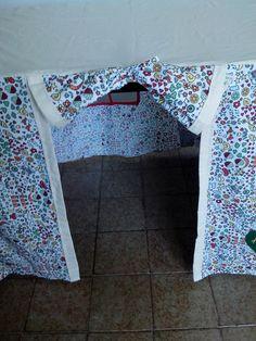 Parte interna da cabana