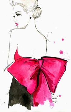 La Musa Decoración: DISEÑO: Ilustraciones de moda by Jessica Durrant