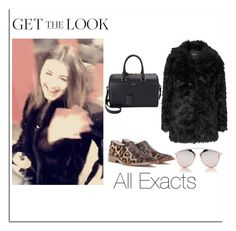 """""""Eleanor Calder with Danielle Bernslein 15\2\2016"""" by lifeisworthlivingagain ❤ liked on Polyvore featuring Topshop, Christian Dior, Yves Saint Laurent and Victoria Beckham"""