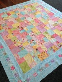 Awful Walmart fabric -- charity quilt | My Quilts | Pinterest ... : double layer cake quilt - Adamdwight.com