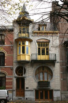 art 25 Most Beautiful Art Nouveau Architecture Design 25 Schönstes Jugendstil-Architekturdesign Architecture Design, Architecture Art Nouveau, Beautiful Architecture, Beautiful Buildings, Building Architecture, Bungalow Haus Design, House Design, Art Nouveau Arquitectura, Design Art Nouveau