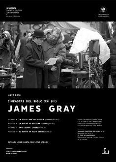 """Este ciclo permitirá disfrutar de algunos de los títulos fundamentales de la filmografía del joven realizador estadounidense como """"La noche es nuestra"""" y """"El otro lado del crimen"""", parte de su trilogía de cine negro, y dos títulos de género melodramático como """"Two lovers"""", en la que presenta una adaptación encubierta de """"Noches blancas"""" de Fiódor Dostoyevski, y """"El sueño de Ellis"""", una película histórica con tintes de cine negro y melodrama. #JamesGray #CineastasSXXI #CineClubUGR"""