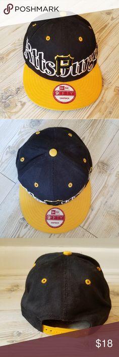 Pittsburgh MLB New Era 9Fifty Snapback Cap 416e9249b13b