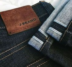 j brand leather Garra, Moda Jeans, Aw 17, Man Projects, Leather Label, Patched Jeans, Denim Branding, Hang Tags, Vintage Denim