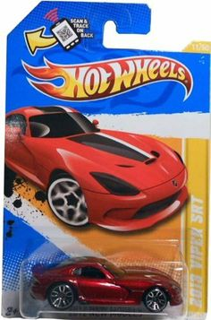 hot wheels 2013 viper srt by hot wheels 005 scan track card - Rare Hot Wheels Cars 2013