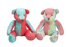 Lily & George Patchwork osos - Surtido | Toy | en Mighty Ape NZ
