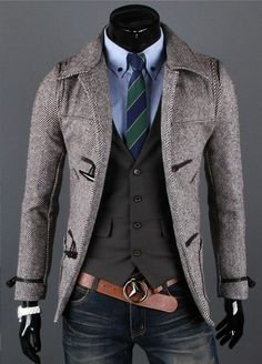 casual mens fashion that look fabulous:) 663265 Fashion Mode, Look Fashion, Mens Fashion, Fashion Trends, Blazer Fashion, Modern Fashion, Mode Masculine, Sharp Dressed Man, Well Dressed Men