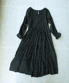 dress in polka dots