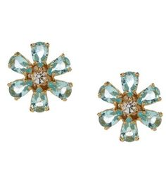 kate spade new york Be Adorned Crystal Gold Plated Stud Earrings #Dillards