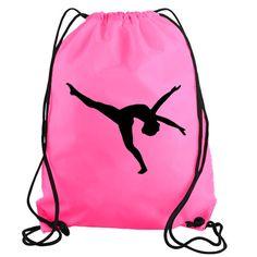 Modern Dancer Drawstring Gym Bag Tote Boat Stickers, Bumper Stickers, Truck Decals, Vinyl Decals, Tennis Players, Ballet Dancers, Drawstring Backpack, Flamingo, Gym Bag