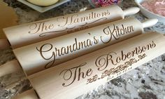 Personalized Rolling Pins - American Laser Crafts   Groupon