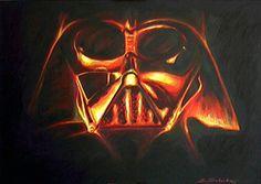 Gemälde von Darth Vader