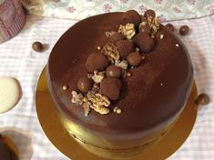 Amazing Cakes, Baked Goods, Chocolate Cake, Cake Decorating, Goodies, Food And Drink, Birthday Cake, Cheesecake, Pudding