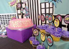 SuperGirl Birthday party by @Adjua Ferguson, #SuperHero #SuperGirl #Birthdayparty
