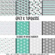 A personal favorite from my Etsy shop https://www.etsy.com/listing/269024113/modern-neuroscience-paper-pack-gray