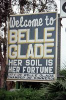 Welcome sign on old State Road 80 - Belle Glade, Florida. Florida Girl, Visit Florida, Florida Living, Vintage Florida, Old Florida, Black Soil, Palm Beach County, Historical Photos, Old Photos