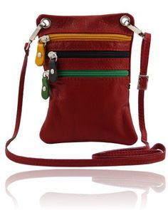 TL BAG TL141094 Soft leather mini cross bag - Tracollina in pelle morbida