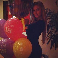 """18"" th Birthday Balloons"