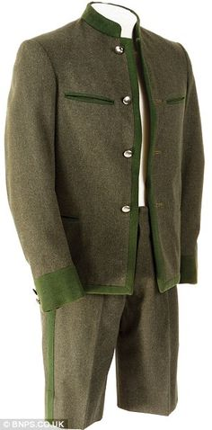 An outfit worn by one of the von Trapp sons