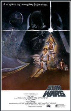 """Star Wars IV: A New Hope (1977) - Princess Leia is shown in a sexual position as to bring the viewers eye into the focal point of the poster which is the bare chested man, Luke Skywalter. Diamond said """"Men are the pursuers of sex, whereas women are the objects of male sexual desire"""" (as cited in Hickey, A. 2012). This shows women through the heroine that in order to be successful a women must be everything the man wants and therefore teen girls stress about being the perfect sexual partner."""