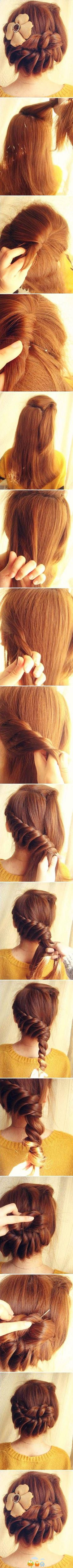 Awesome  updo