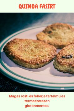 Quinoa fasírt Quinoa, Hamburger, Muffin, Breakfast, Recipes, Food, Breakfast Cafe, Muffins, Rezepte