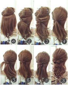 Perfect hairstyle for medium length hair