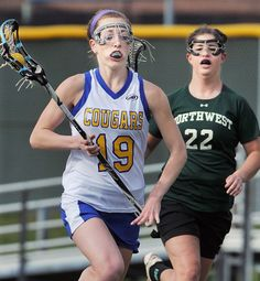 lacrosse girls have the best running faces