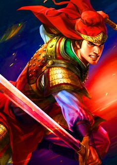 General Ling Tong of the Wu Kingdom, during the War of the Three Kingdoms, Ancient China