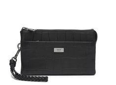 Adax Messina Clutch, Style 447710, Black