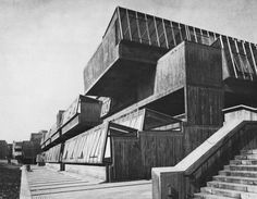 Pimlico Secondary School, London, 1967 (Greater London Council Department of Architecture & Civic Design)