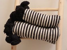 Moroccan Pom Pom Blanket - product images of