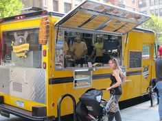 ...eat at food trucks!  Waffels and Dinges in NYC --YUM!