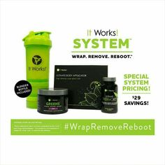 Oh my goodness!! Check out this lady's aaaahmazing results using our #itworkssystem   box of 4 wraps.. Wrap once a week  cleanse.. Replace those poor food choice with alternative good choices & drink the cleanse 2 days in the month  greens...take two scoops in a beverage of your choice to get your fruits and veggies!  Thermofit.. Help increase your metabolism and decrease your appetite.