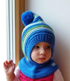 READY TO SHIP sizes 6-12m 3-6y Merino Pixie Balaclava Hat