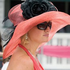 Talk Derby to Me – It's Kentucky Derby Time!  It's all about the Derby Hat.  This one is smashing!