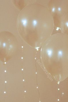2 Fairy Lights for Helium Balloons. Led lights for Wedding Balloons Party…