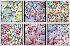 BFC-Creations Beautiful Stained Glass Squares to use alone or with our Stained Glass Floral Squares. These would also make great hot mats for the table. Check out our Stained Glass Menu and our Stained Glass Pinterest page