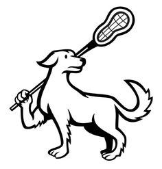 Dog with Lacrosse Sport Vinyl Decal Stickers, Home, Office , Computer, Tumbler | Home & Garden, Home Décor, Decals, Stickers & Vinyl Art | eBay!