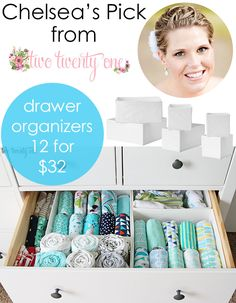 The new year is all about new goals and new plans … and for me, new opportunities to organize my home! The new year always gets me geared up to clean and reorganize and get things in tip-top shape. And certain items just make the job easier, don't they? I've teamed up with a group …