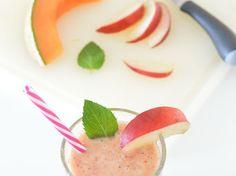 Smoothie melon et nectarine blanche