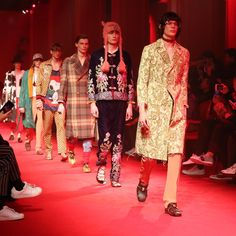 10 Things to Know About Gucci's Fall 2016 Men's Show