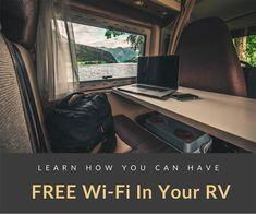 Looking to stay connected while on the road? RV WiFi doesn't have to be a headache; here's advice from real RVers on how to best get WiFi in your RV. Rv Wifi, Rv Internet, Verizon Phones, Best Wifi, Rv Homes, Internet Providers, Best Mobile, Rv Parks, Rv Travel