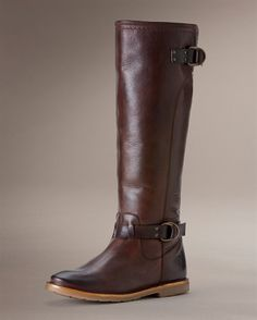 Frye Celia D Ring- may have to add these to my collection... chocolate, black or cognac????