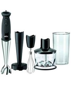 Braun MQ5137 Hand Blender.: Precise and versatile hand blender with SPLASHControl technology, 500ml chopper and metal whisk.… #Shopping