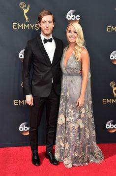 Thomas Middleditch and Mollie Gates