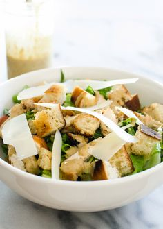 Grilled Chicken Caesar Salad on The Pioneer Woman: Food & Friends. (Recipe and post from Erica Kastner of Buttered Side Up)