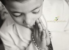 boy first communion from Nostalgia Portraits